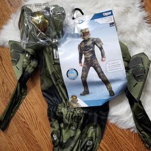Halo MASTER CHIEF Child Costume Size Small (4-6) H